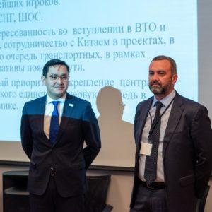 Бахром Исмаилов и Николай Галаев