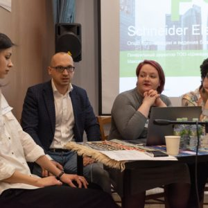 Евгения Шанская, Максим Агаев, Екатерина Сенина, Мария Дубнова