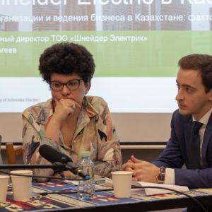 Мария Дубнова, Главный редактор Фергана.ру и Алексей Панин, Партнер Urus Advisory