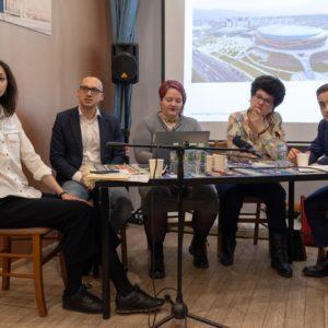 , Евгения Шанская, Максим Агаев, Екатерина Сенина, Мария Дубнова, Алексей Панин