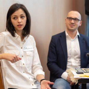 Евгения Шанская, MAAS и Максим Агаев, Генеральный директор Schneider Electric Казахстан